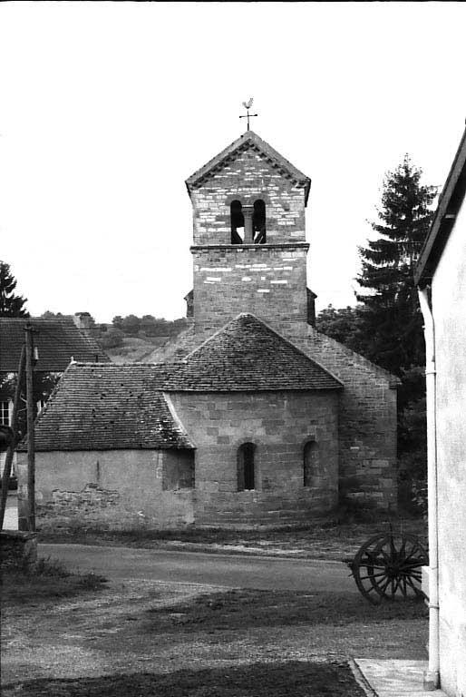 L'église où officiait le curé THONNARD